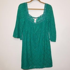 Laundry by design women' crocheted top size medium
